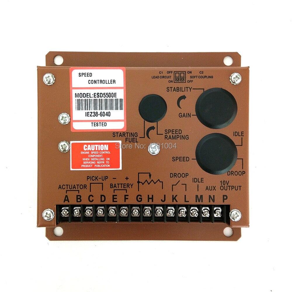 esd5500e esd5550e esd5111 esd5220 esd5131 esd5120 esd5221 qualidade regulador da unidade de controle de velocidade do
