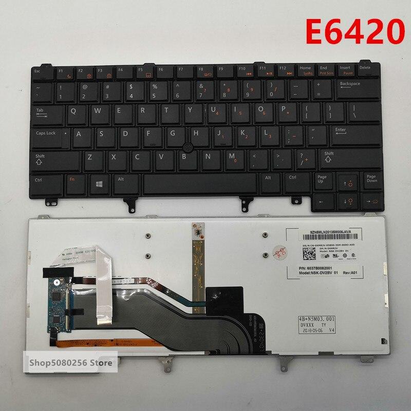 Latin Spanish Keyboard Teclado for Dell Latitude E6430S xt3 E6420 E6430 E6440