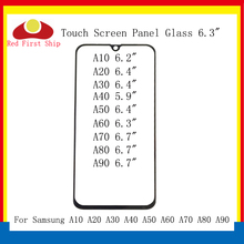 10Pcs/lot Touch Screen For Samsung Galaxy A10 A20 A30 A40 A50 Touch Panel Front Outer Glass Lens A60 A70 A80 A90 2019 LCD Glass стоимость
