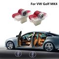 Auto LED Lampe Tür Schatten Projektor Licht Für VW Golf MK4 Beatles Lavida Käfer Caddy Bora Touran Innen Dekoration Zubehör