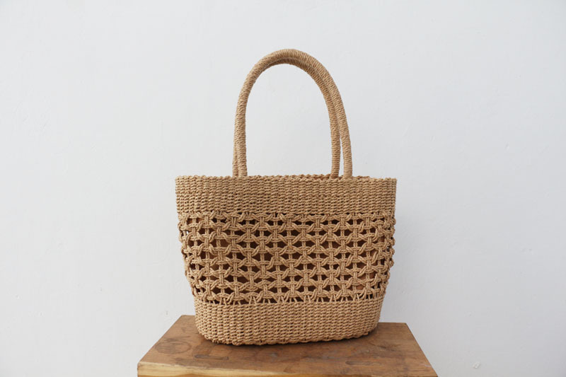 Oversized Straw Beach Bag for Summer 2021