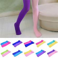 2Pcs Soft Ballet Dance Stocking Pants Legging Spring Autumn Velvet Pantyhose for Baby Girl Child Lovely Pantyhose