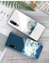 Huawei P30 phone case Back Tempered Glass Soft Edge TPU Silicone for Huawei P30 Pro Cover fornite popsocket for mobile phones(China)