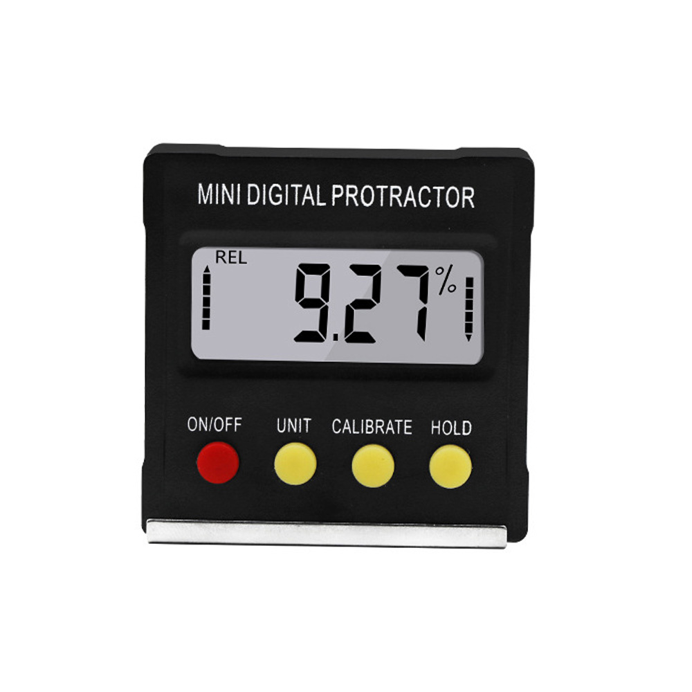 Digital Protractor Inclinometer Level Box Digital Angle Finder Bevel Box With Bottom Built-in Magnet