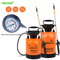 Hot Sale Garden Pressure Sprayer Irrigation Flower Plant Comes With Pressure Gauge Watering Can Pesticide Fertilizer Spray Tool
