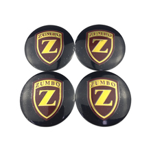 Auto Styling Tyre Cover Durable Emblem Decal for ZUMBO Logo Honda Civic Opel Renault Clio Fiat 500 Car Wheel Center Caps