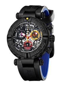 Reef Tiger/RT Роскошные Брендовые спортивные часы для мужчин с резиновым ремешком, Скелетон, кварцевые часы, хронограф, дата, Montre Homme, RGA3059-S