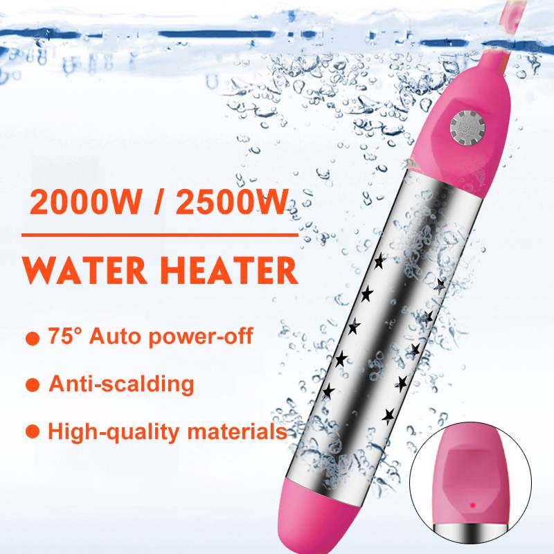 2500W/2000W 220V Floating Electric Heater Boiler Water Heating Element Portable Immersion Suspension Bathroom Swimming Pool(China)