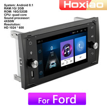 Auto Radio Lettore Multimediale Android 8.1 Per Ford Transit Da Fiesta Da Messa A Fuoco/Focus2 Galaxy Mondeo Fusion C- max S-Max Connect(China)