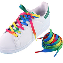 Buy 1 Pair Colourful Shoelaces Shoe Laces for Sneakers White Shoes Sport Shoes Long Rope Laces Long 80CM directly from merchant!