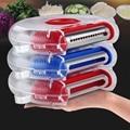 Küche Werkzeuge Obst und Gemüse Schäler Gemüse Schreddern Werkzeug Edelstahl Klinge Leicht Zu Reinigen Ersetzen Funktion 3 In 1