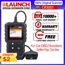 STARTEN X431 CR3001 OBD 2 Auto Scanner Diagnose Tool Multi sprache Creader ODB2 3001 Code Reader PK ELM327 V 1,5 OM123