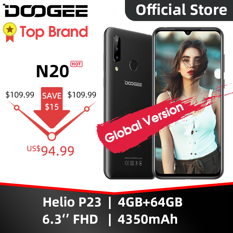 DOOGEE N20 teléfono móvil huella dactilar 6,3 pulgadas FHD + pantalla 16MP Triple cámara trasera 64GB 4GB MT6763 Octa Core 4350mAh teléfono móvil LTE Nubia Play 5G teléfono móvil 6,65 pulgadas AMOLED 144Hz pantalla Snapdragon 765G SA NSA banda Dual en pantalla 30W PD cargador rápido