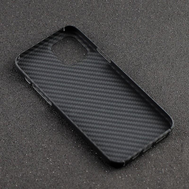 Aramid Fiber Carbon Bumper Officiële Ontwerp Case Voor Apple Iphone 12 11 Pro Max 12 Mini 12 11 Xs Max xs Xr 7 8 Plus Se 2020 Cover 4