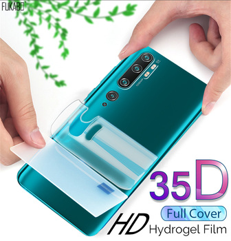 35D Front & Back Hydrogel Film For Xiaomi Redmi Note 9s 8 Pro mi Note 10 Pro Screen Protector For mi 10 9T Pro 10 Lite Not Glass