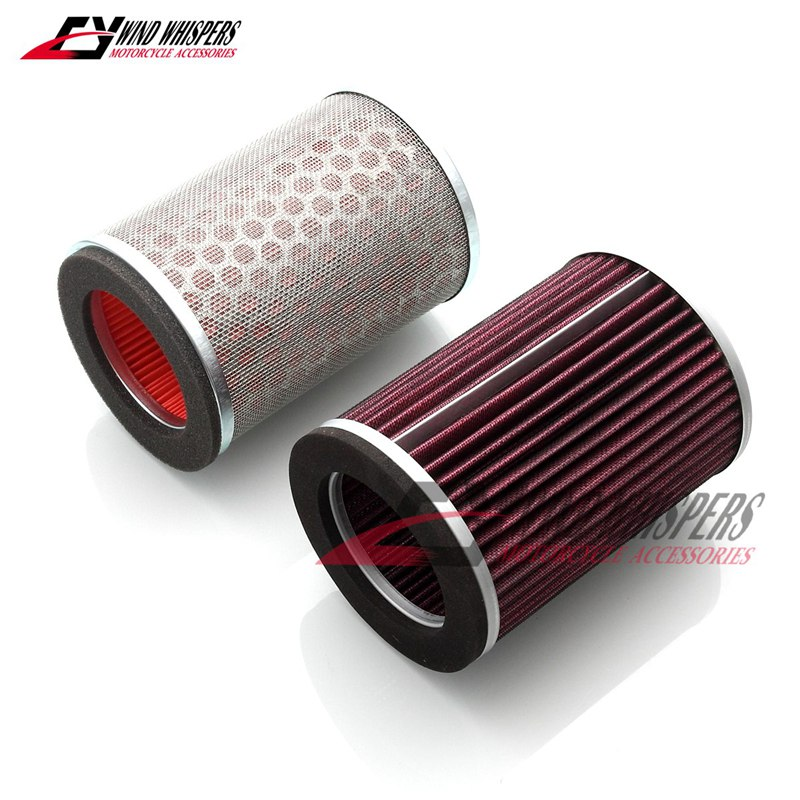 Motorcycle Air Filter Cleaner For Honda CB250 CB600 CB600 F Hornet 250 600 1998 1999 2000 2001 2002 2003 2004 2005 2006(China)