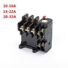 Thermal overload relay JR36-32 690V specification 16/22/32A high quality copper parts thermal overload protection relay [zob] hagrid ewt140c thermal overload relay 30 40a imported three phase overload protection 2pcs lot