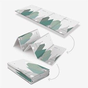 Image 3 - Tapis de jeu pliable réversible imperméable pour bébés, grand Puzzle XPE, tapis de jeu Portable, Double face, pour enfants