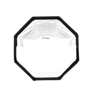 Image 3 - TRIOPO 65cm Opvouwbare Octagon Softbox Bracket Mount Softbox Handvat + Honingraat + 2m Light Stand voor Godox speedlite Flash
