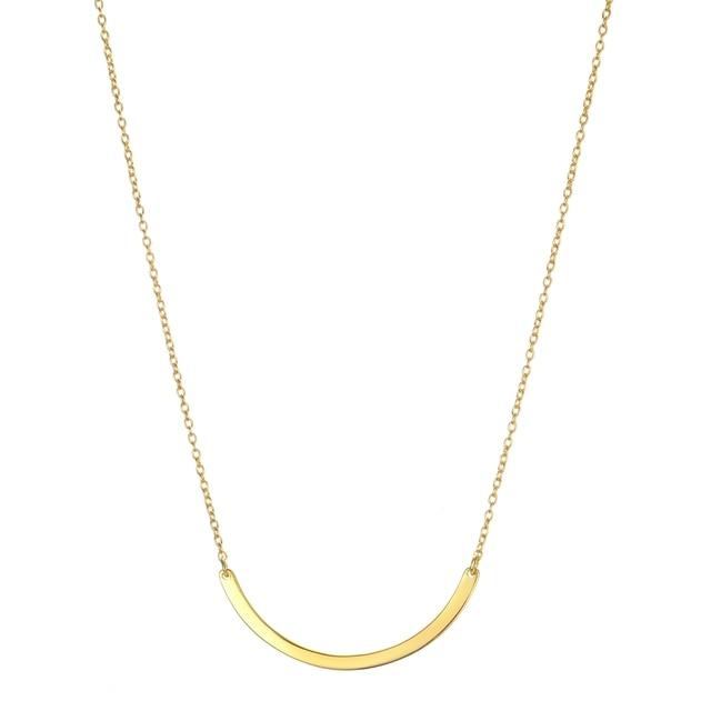 2019 Anenjery 925 sterling silver naszyjnik Unisex płaskie wąż Link Chain karabińczyk collares naszyjniki dla kobiet mężczyzn