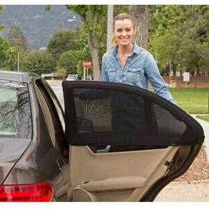 Image 2 - Universele Auto Zonneschermen Gordijn Accessoires Auto Accessorie Woondecoratie Dashboard Hanger Zomer Zonnebrandcrème
