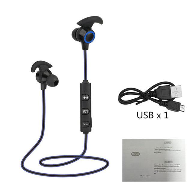 Sem fio bluetooth fones de ouvido com cancelamento de ruído ativo esportes fones de ouvido in ear fones de ouvido com microfone para samsung huawei xiaomi