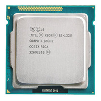 Original intel xeon E3 1220 cpu e3 1220 3.1 ghz 8 mb 80 w soquete 1155 cpu servidor|CPUs| |  -