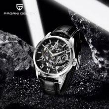 Montre-bracelet de PAGANI, modèle de squelette, modèle de luxe, montre-bracelet mécanique pour hommes, 2020