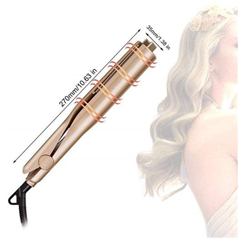 2 në 1 Pro Qeramike Roller misri Shkop magjik Flokët e flokëve - Kujdesi dhe stilimi i flokëve - Foto 2