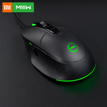 Original Xiaomi MIIIW 700G RGB Colorful light effect 1000HZ Speed Wired Gaming Mouse 6 Buttons 7200DPI Ergonomic Gamer PC Mouse 1