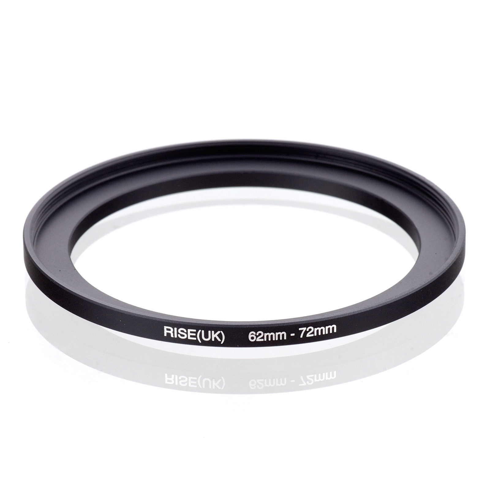 RISE(UK) 62mm-72mm 62-72 Mm 62 To 72 Step Up Filter Ring Adapter