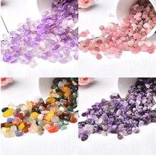 Mini roche minérale en Quartz naturel, cristal blanc, pierre de guérison pour Aquarium, décoration de maison, Simple, à la mode