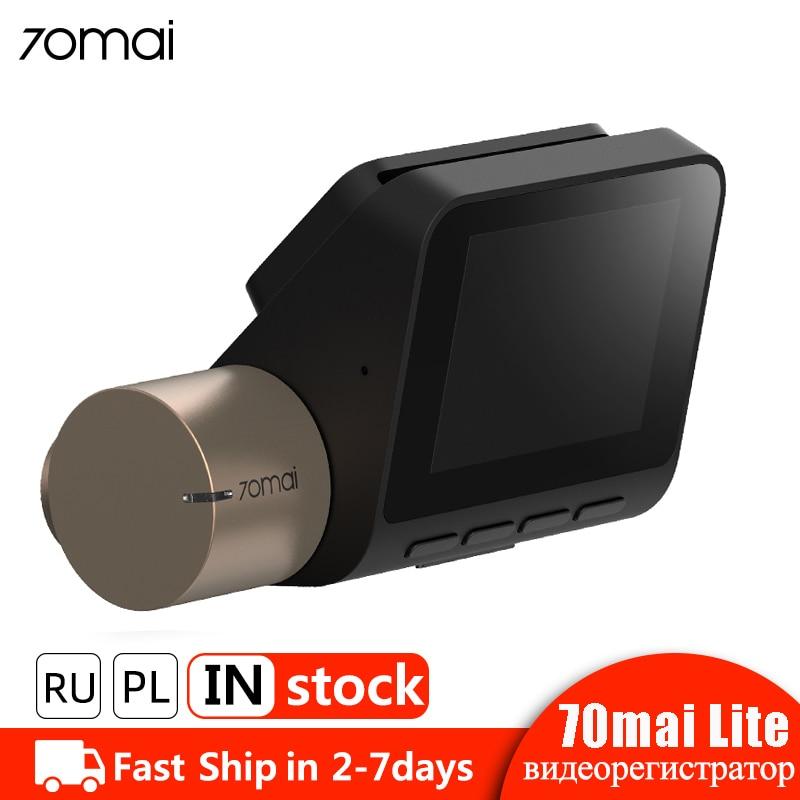70mai Dash Cam Lite 1080P Speed Coordinates GPS Module 70 MAI Lite Car DVR Camera Wifi Auto Video Recorder 24H Parking Monitor