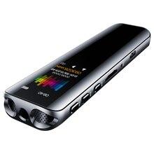 V39 Attivazione Vocale Registratore Portatile MP3 Lettore Telefono di Registrazione Audio A Doppio Arco Microfono Registratore Vocale Digitale Dittafono