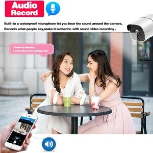 Image 3 - وجه AI H.265 8CH 5MP HD POE طقم NVR CCTV نظام الأمن اتجاهين الصوت AI IP كاميرا في الهواء الطلق P2P مجموعة مراقبة الفيديو 2 تيرا بايت HDD