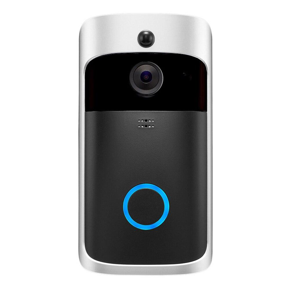 Sans fil WiFi vidéo sonnette téléphone intelligent porte anneau interphone maison sécurité caméra cloche EM88
