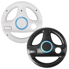 2Pcs/Lot for Nintend Wii Remote Game Controller Steering Wheel Racing Wheel Games for Wii Kart Racing Games Controller