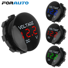 Ammete Voltage-Meter-Tester Digital-Voltmeter Motorcycle Led-Display AUTO Mini FOR Car