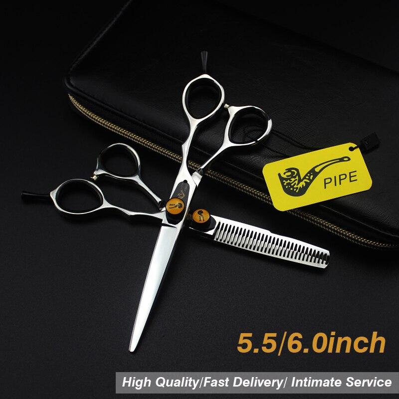 Hairdressing Scissors 5.5/6 Inch Multicolor  Hair Thining Scissors Professional Scisors