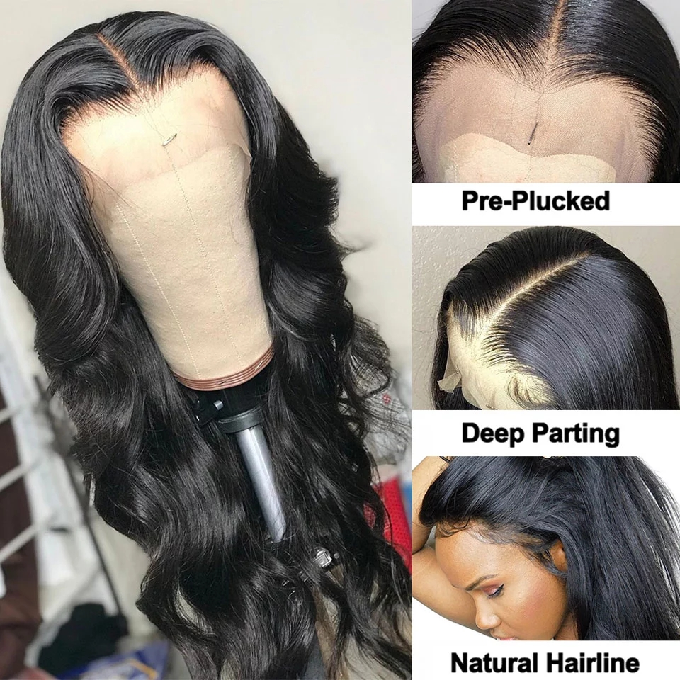 Body Wave Lace Front WigHair Wigs for Black Women 4