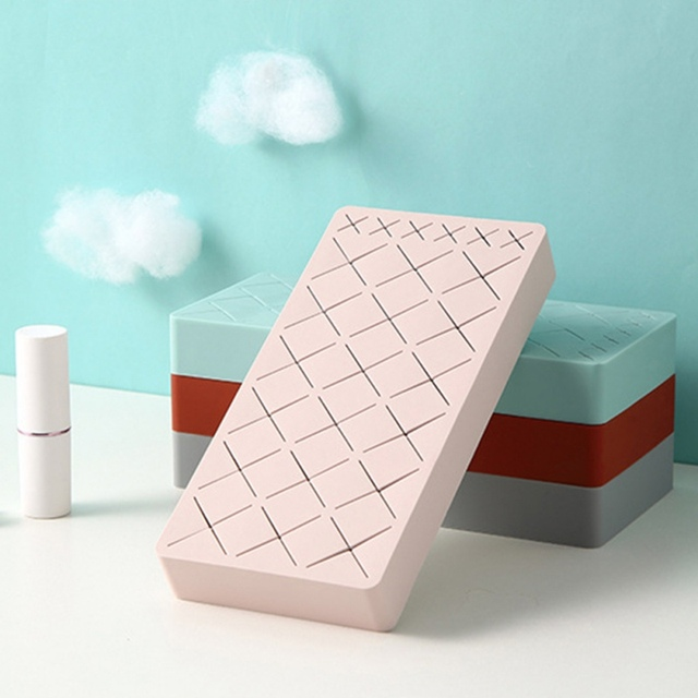 24 Grid Makeup Storage Case Cosmetic Storage Rack Household Lipstick Organizer Rack Makeup Brush Holder For Bedroom 2
