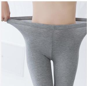 Image 5 - חותלות XS 7XL קיץ Legings נשים 3/4 קצר צועד מכנסיים דק נשים גדול גודל למתוח אפור שחור לבן ורוד 6XL 5XL 4XL 3XL