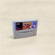 스트리트 게임 파이터 II 터보 액션 게임 카드 EUR 버전 영어