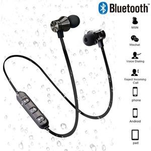 Image 1 - Bluetooth V4.2 אלחוטי סטריאו אוזניות ספורט אוזניות עבור iPhone X XS 7 8 סמסונג S8 S9 S10 Xiaomi 9 עמיד למים אוזניות עם מיקרופון