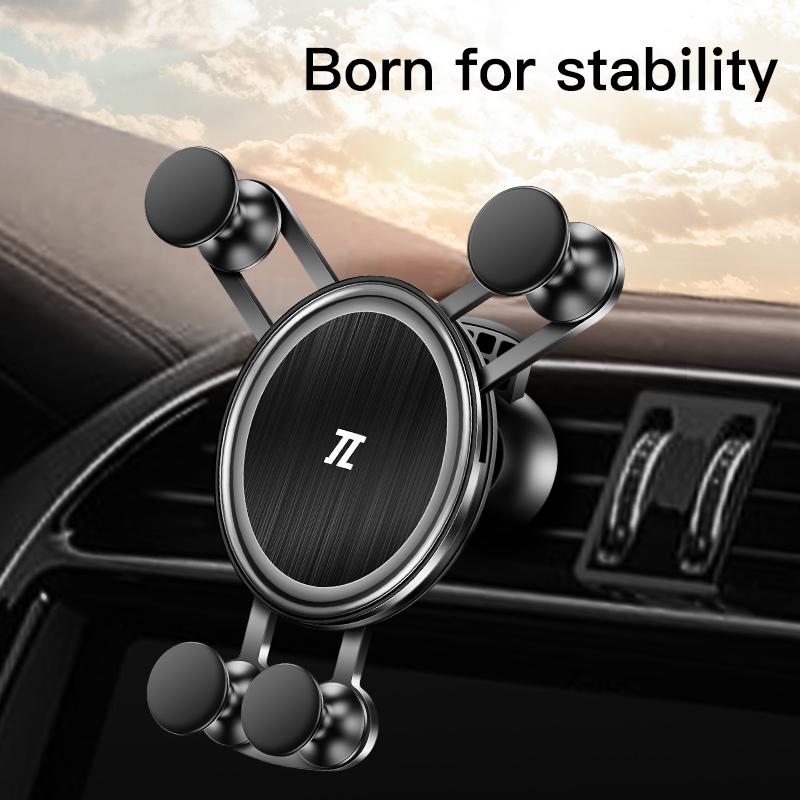 Universal Gravity Phone Holder For Mobile Phone In Car Air Vent Mount Stand For iphone 11 7 huawei xiaomi Support Car Holder(China)