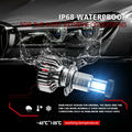 Замена светодиодных фар авто водонепроницаемый высокий + Ближний свет 1 пара H7 Лампа