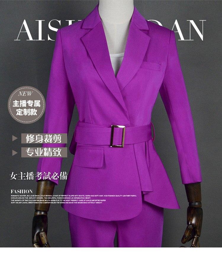 Женская официальная элегантная офисная одежда для работы, Униформа, дамские брюки, блейзеры, куртка с топом, брючные костюмы, комплекты одеж
