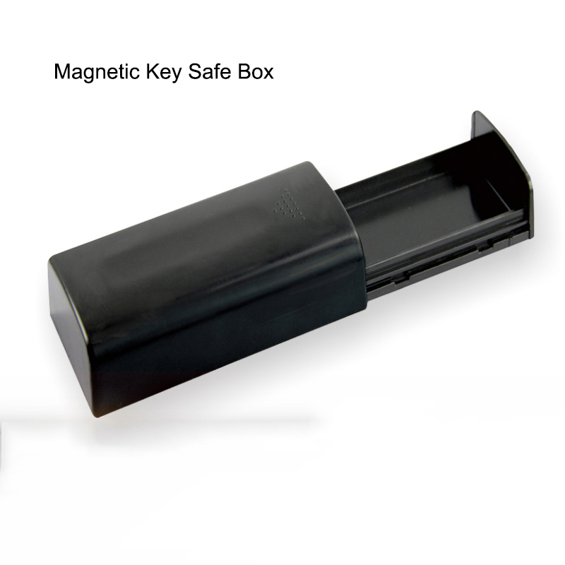Magnetic Car Key Holder Box Outdoor Secret Stash Key Safe Box For Car Truck Caravan Hidden Secret Storage Spare Key Box