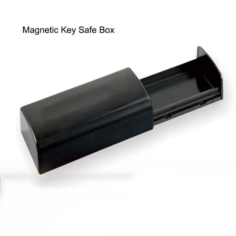Magnetic Car Key Holder Box Outdoor Secret Stash Key Safe Box For Car Truck Caravan Hidden Secret Storage Spare Key Box