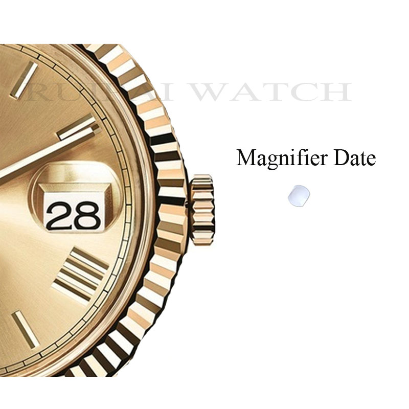 Free Shipping 1pc Watch Glass/Sapphire Crystal Glass Date Magnifiers For Watch Replacement